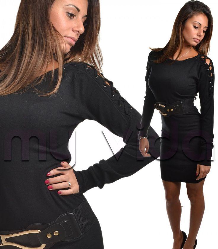 Vestito pullover donna con cinta | My Vida