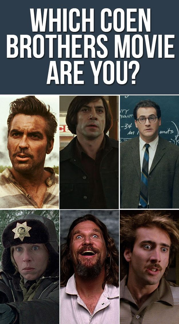 Which Coen Brothers Movie Are You