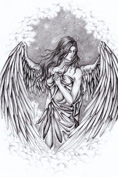 ANGEL by yazooLovrec (print image)