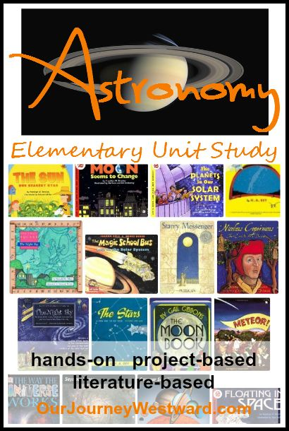 Study astronomy with elementary children using living literature, hands-on activities and project-based learning.