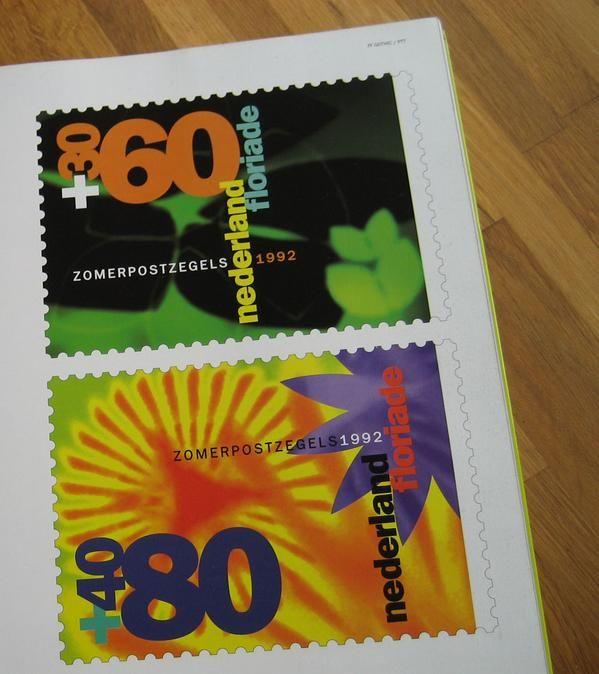 Neville Brody PTT stamps   #stamps  via @_emmacutler