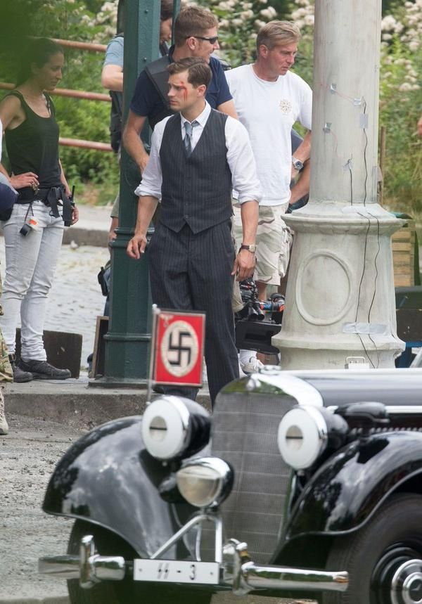 Filming Anthropoid, Prague, August 3, 2015