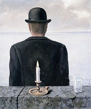 René Magritte - The Song of the Sirens (Le Chant des Sirenes) 1953