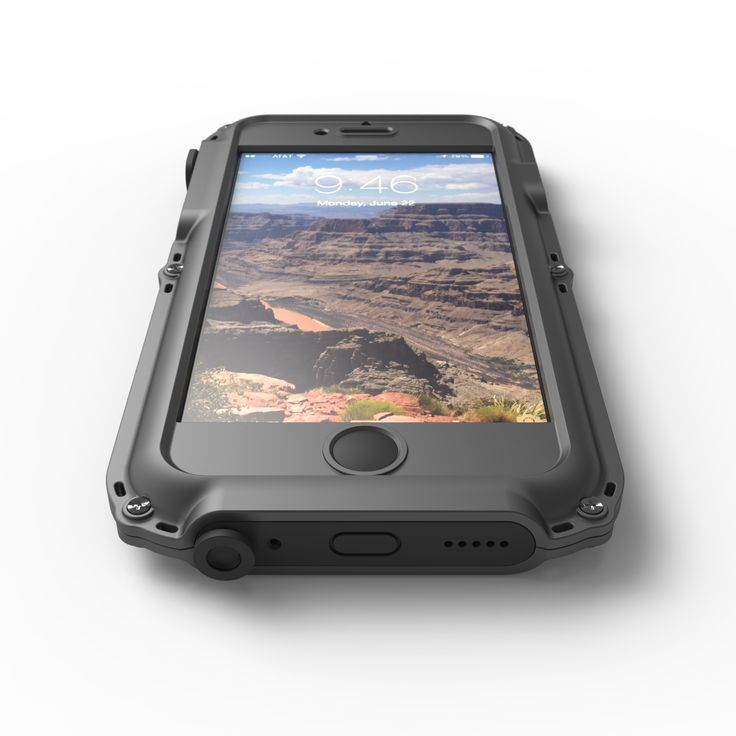 The XTREME Waterproof iPhone case will be the best among iPhone cases. This well made case stands out because it offers you the benefit of a waterproof, shockproof and dust-proof casing. What's more, it is an original innovation. There is no better way to