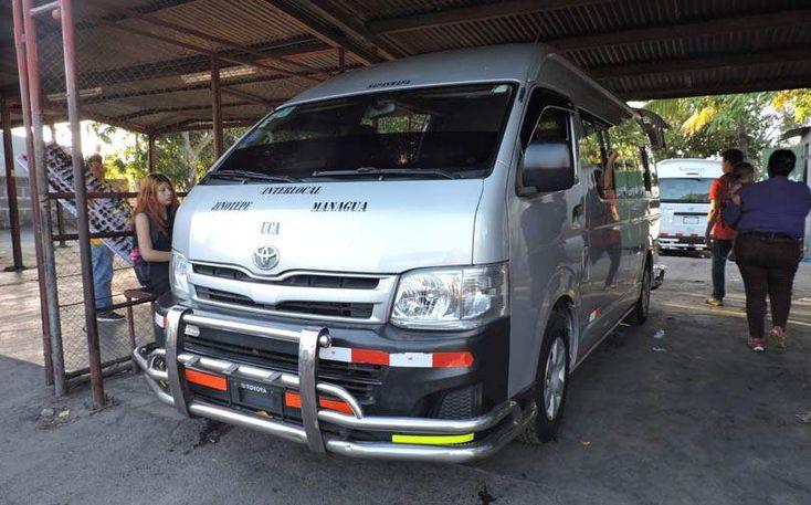 Managua to Leon and Las Penitas in Nicaragua Microbus
