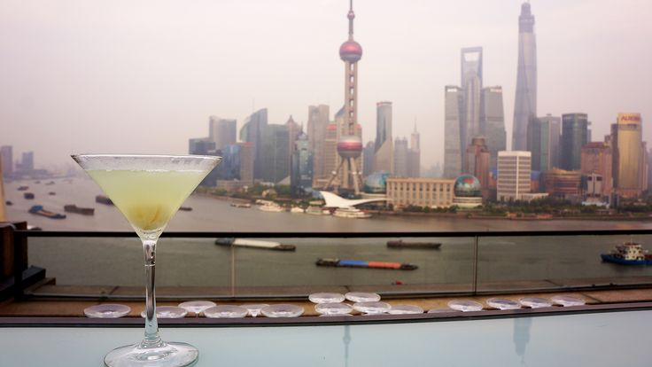 SHANGHAI'S MIXOLOGY -  Up in the clouds - you put some London No.1 gin, lychee liqueur, home-made nectar with jasmine tea and some lemon juice. Be careful, you might wake up with your head in the clouds the next day
