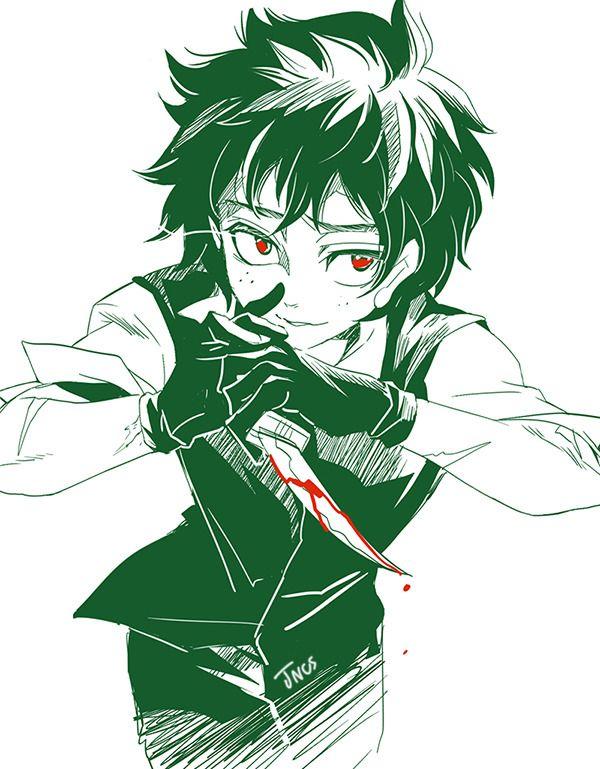 Jncs Villain Deku Hero My Hero Academia