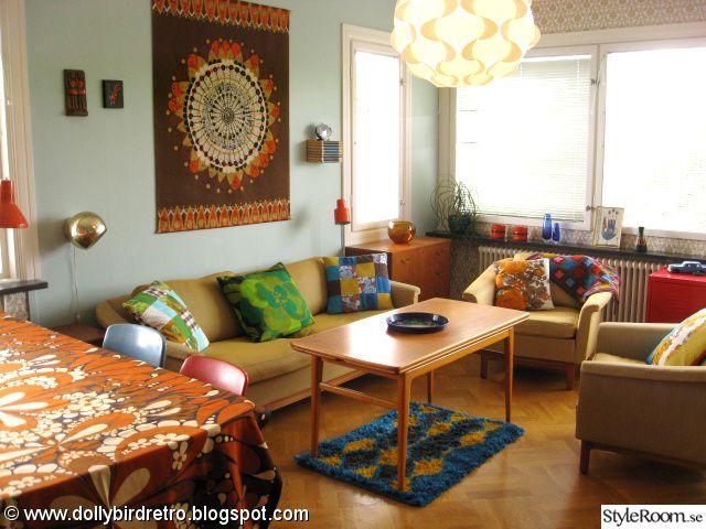 Dux Pasadena,60 Tal,retro,ryamatta,retro Vardagsrum | Floor | Pinterest |  Retro, Living Rooms And Room