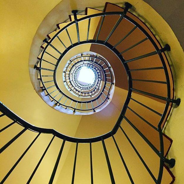 Yellow steps - Comfort Hotel Park