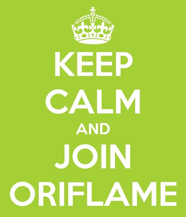 Keep calm and Join Oriflame