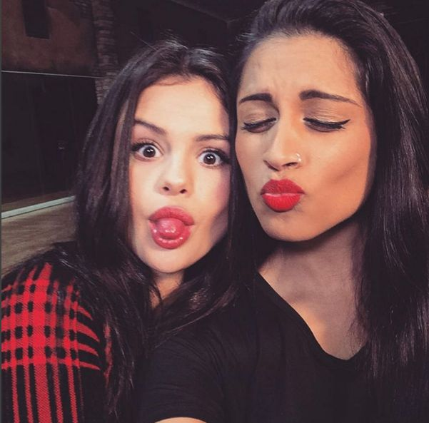 With Selena Gomez @IISuperwomanII #LillySingh #Superwoman #selenagomez