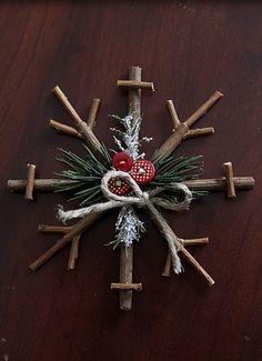 Rustic DIY Christmas Ornaments :: Home design ideas,DIY Creative Ideas, Craft…