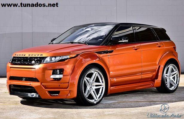 range rover custom | Range Rover Evoque equipado com rodas aro 22