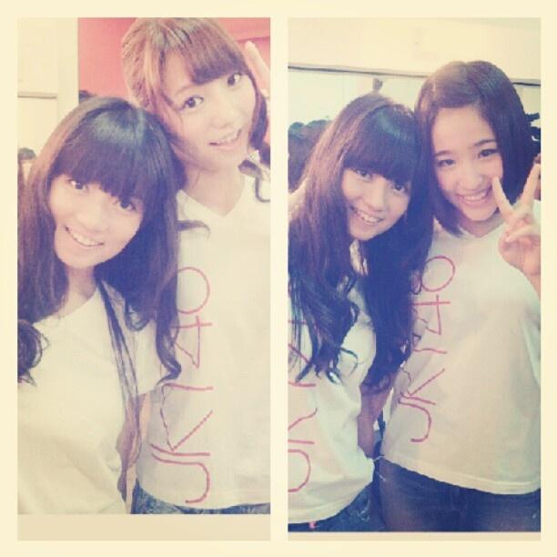Takajo aki san & nakagawa haruka san <3 - @stellarcor- #webstagram
