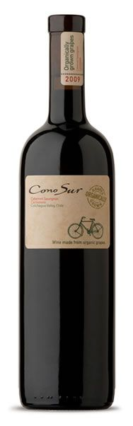 Cono Sur - Organic / Chili, a wine symbolized by a bicycle and ruled only by nature's cycles.
