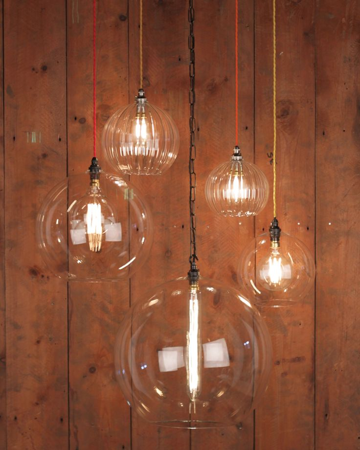 HEREFORD CLEAR GLASS GLOBE LIGHT from £80.00 - £360.00 http://fritzfryer.co.uk/hereford-clear-glass-globe-light