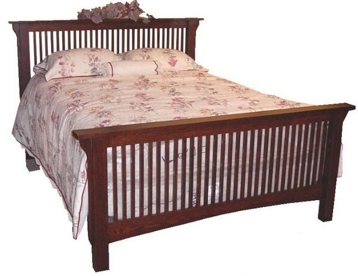 Canadian Woodcraft  - Mission Full Slat Bed, $1,170.00 (http://www.canadianwoodcraft.ca/accesories/mission-full-slat-bed/)