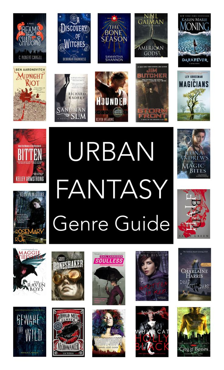 Must Read Urban Fantasy   wrapped up in books