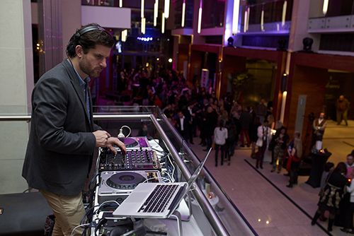 DJ keeping the guests entertained with all the latest hits  #StyleNight