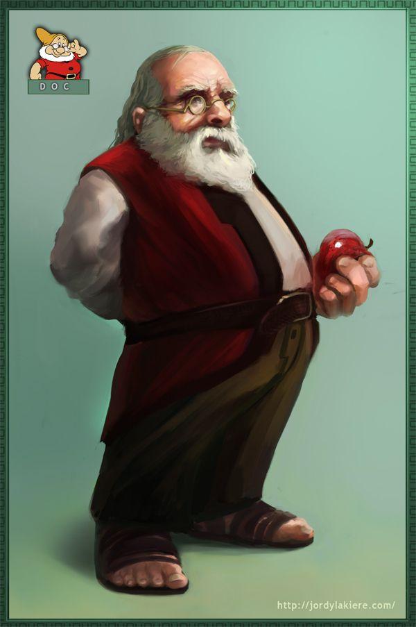 If Disney's 7 Dwarves Were Real Men - Doc