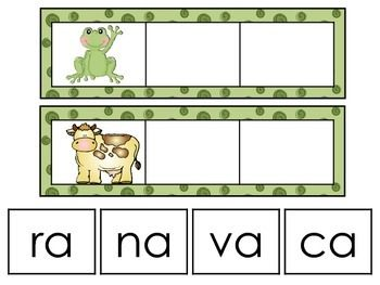 These are activities that I have used in my classroom to teach young children how to read in Spanish. They are appropriate for bilingual, dual language and Spanish reading classes.It includes making words using syllables, reading words, and forming words using letters to name a picture.