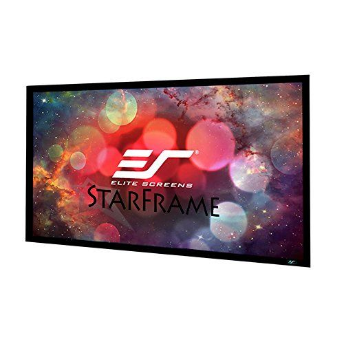 Elite Screens StarFrame Series, 120-inch 16:9, Active 3D - 4K Ultra HD Fixed Frame Home Theater Projector Screen, SF120HW2 -  http://www.wahmmo.com/elite-screens-starframe-series-120-inch-169-active-3d-4k-ultra-hd-fixed-frame-home-theater-projector-screen-sf120hw2/ -  - WAHMMO