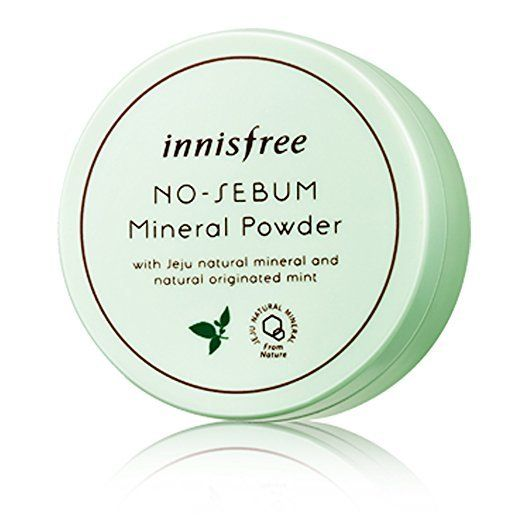 Innisfree No Sebum Mineral Powder Small(5g) Large(15g) - WanTrend