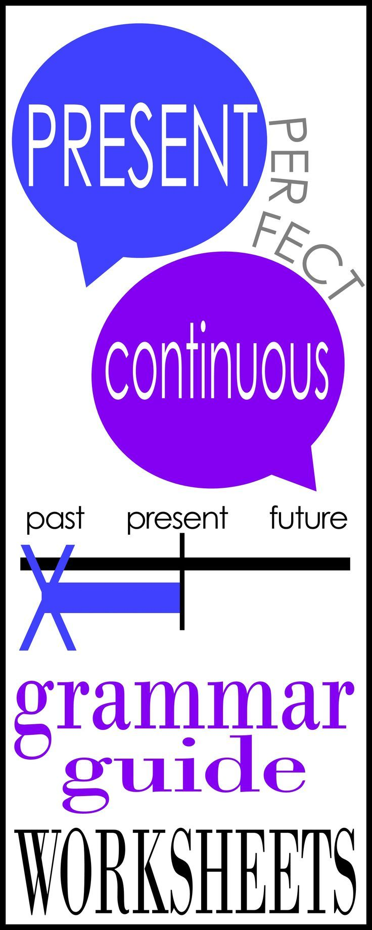 Present Perfect Continuous/Progressive practice for secondary to adult students.  Great for ESL!