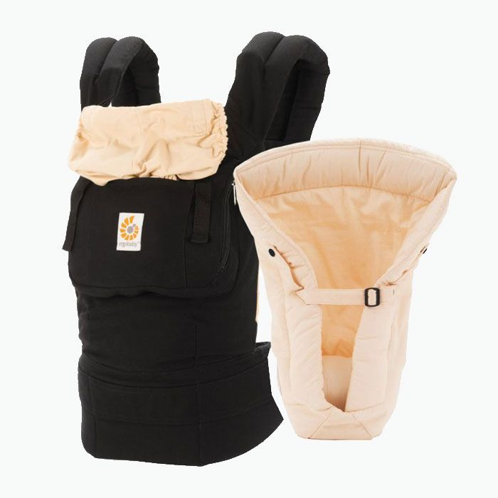 There are so many great carriers out there but I'm so thankful this one was handed down to us. The original Ergo Baby Carrier was a perfect 'fit' for our family. My husband and I both loved using this and felt comfortable using it from birth, even to this day with James close to 11 months. The original does not allow baby to face outward but I am too much of a worry wart for that!   https://www.thesaltydarling.com/single-post/2017/07/12/First-Year-Favorites  Instagram: @brittanysnedegar