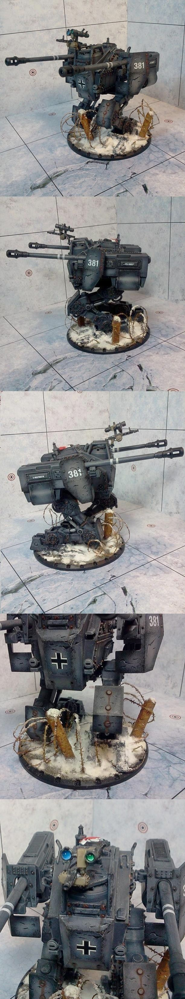 We have walkers like this in Iron Grip: Marauders as well! - Panzerkampfläufer Ludwig - Dust Tactics
