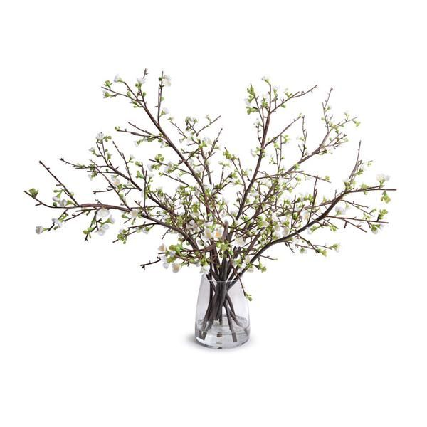 Artificial Flowers Ornamental Pine Branch Lifelike Beautiful Fashion