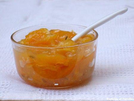 Confiture d'oranges aux grains de fenouil au micro ondes  (cadeau gourmand)