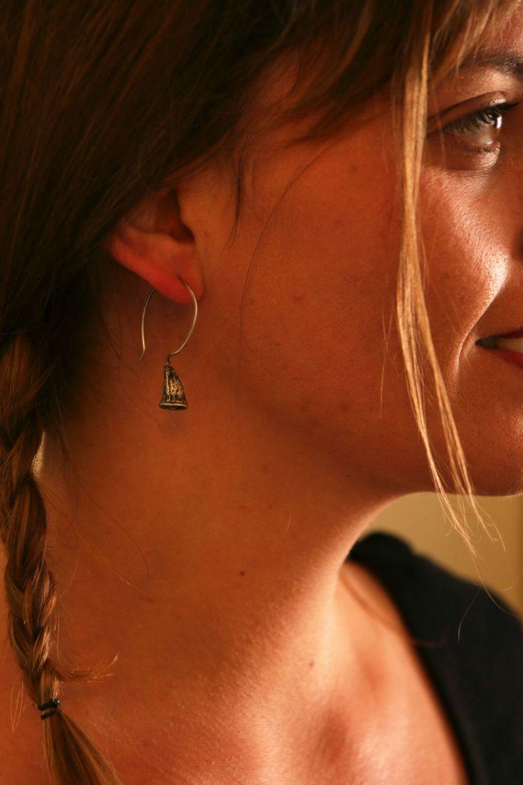 Eucalyptus dangle earrings-Nature earrings-Sterling silver earrings-Botanical jewelry