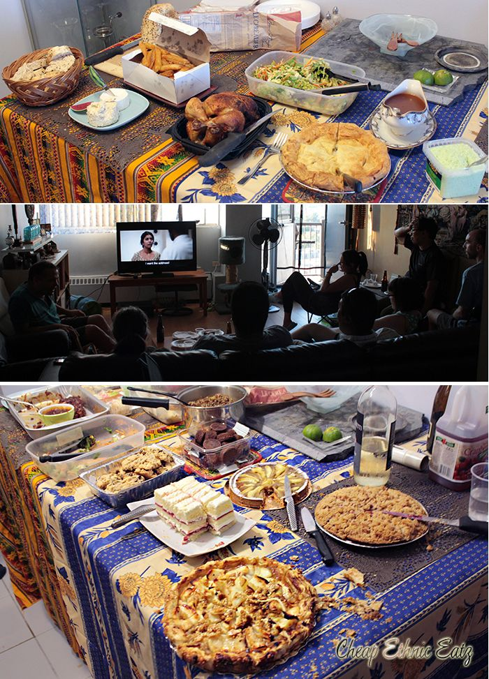 My 4th annual Food Film Marathon