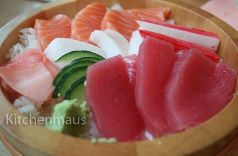 Eat Chirashizushi