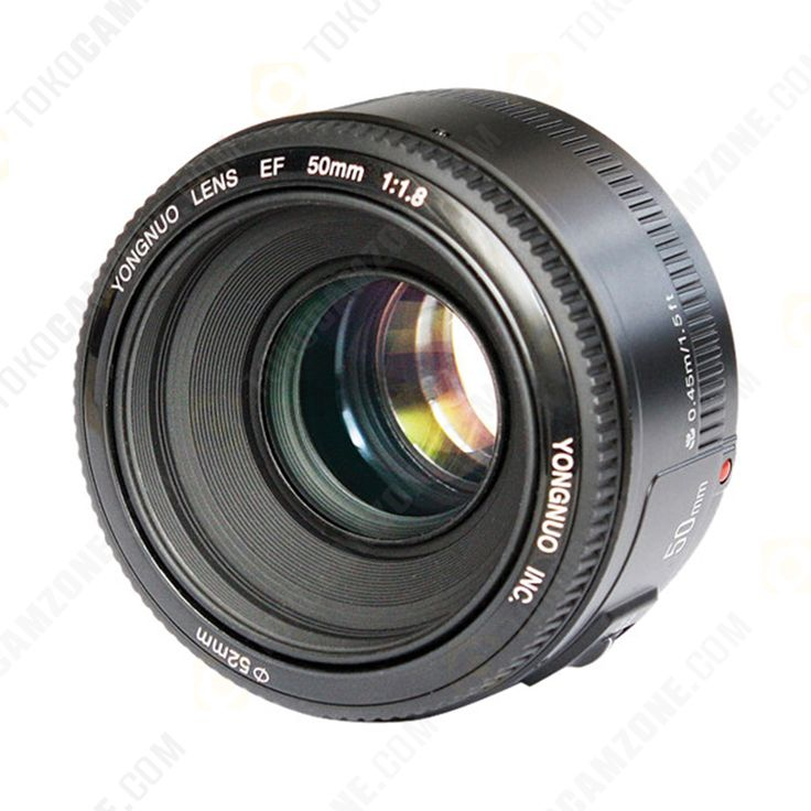 Yongnuo 50mm f/1.8 Lens for Canon - 1thn - 850rb