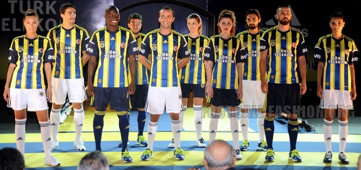 Fenerbahçe SK adidas 2012/13 Home, Away and Third Kits