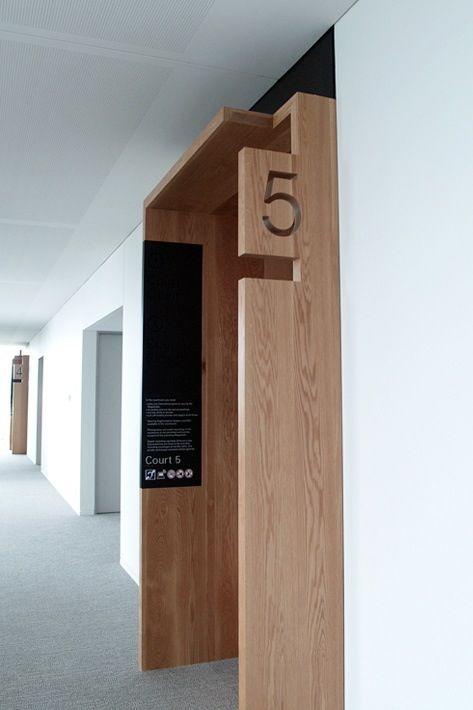 using signage to create a threshold. signage - http://www.thesigncompany.org.uk
