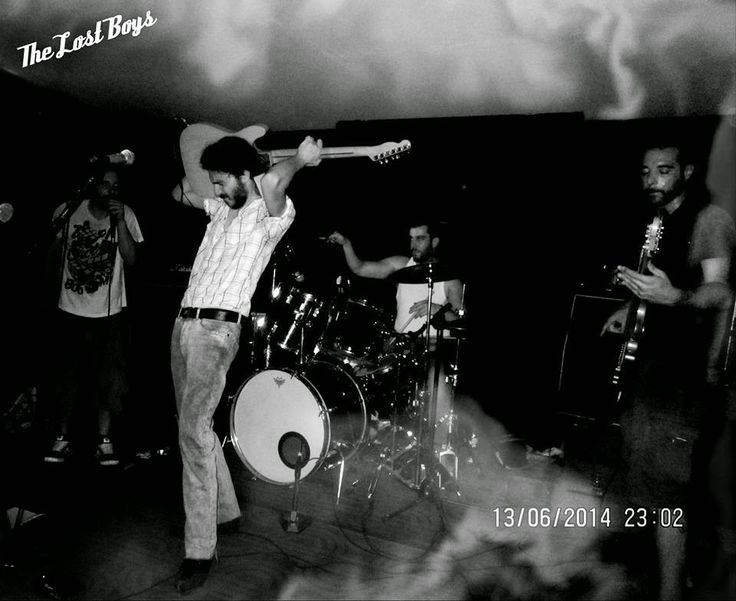 Με ιδιαίτερη χαρά σας παρουσιάζουμε σήμερα τους Lost Boys, το συγκρότημα που χάρη στην επιμονή του δημιουργού του