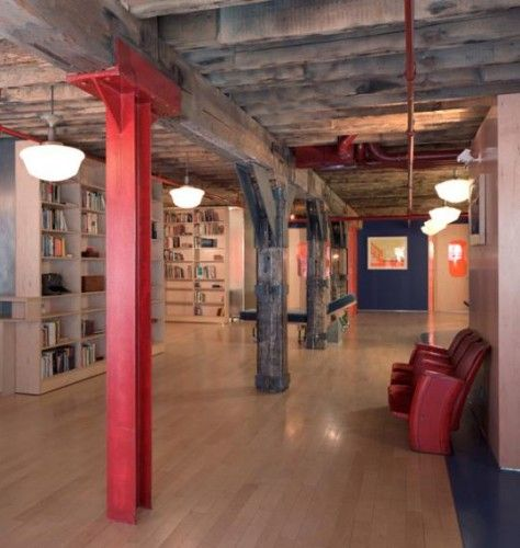 29 Best Images About Cool Basement Offices On Pinterest