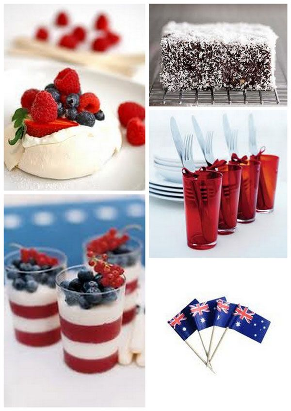 http://girlyinspiration.com/australia-day-table-decorations/