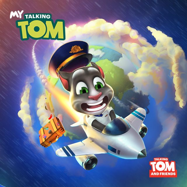 If you're into traveling like me & Talking Tom, you need to check out his latest My Talking Tom app update. xo, Talking Angela #TalkingAngela #MyTalkingAngela #LittleKitties #travel #TalkingTom #MyTalkingTom #app #best #game #wanderlust