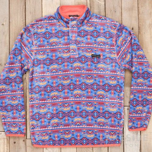 Southern Marsh Dorado Fleece Pullover | Lakeside Cotton