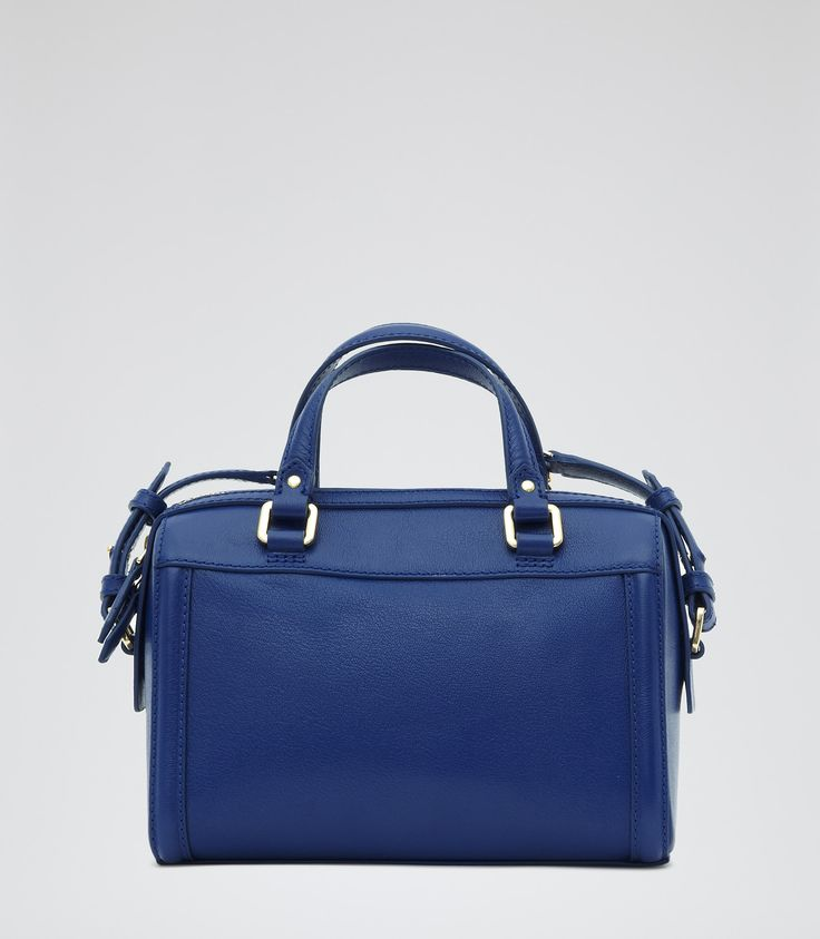 Womens Serpentine Structured Mini Bag - Reiss Lido