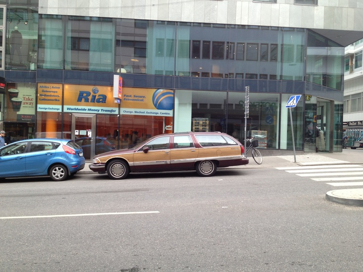 Old Wood car