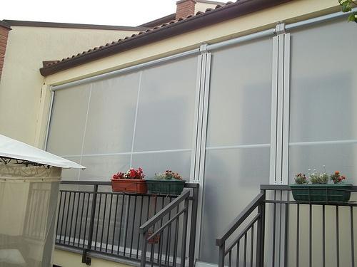 Tenda veranda invernale con tessuto vinitex antingiallimento (6)