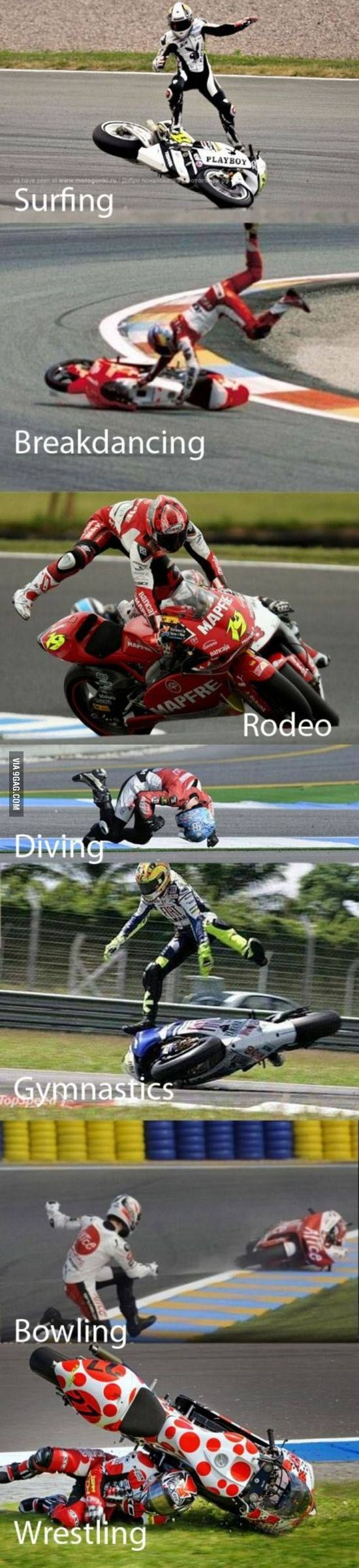 Moto gp... and other activities.