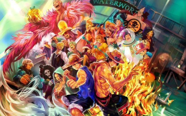 اجمل صور أنمي ون بيس للكمبيوتر في هذا الموضوع ستجدون صورشخصيات أنمي ون بيس مونكي دي لوفي رونوا زورو سانجي One Piece Wallpaper Iphone Anime Anime Wallpaper