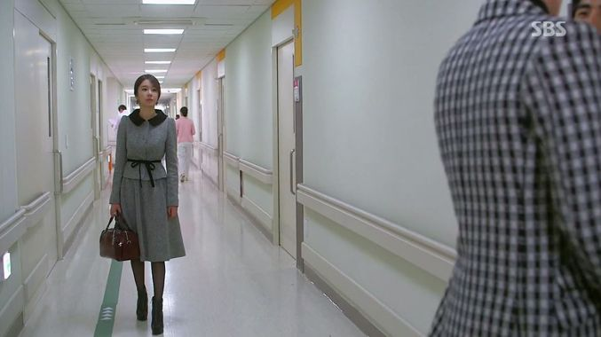 Se Mi's Nunu by Jiakim Jacket and Skirt Combo is to die for.