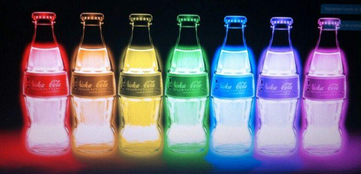 Cocacola imagenes fluorescentes
